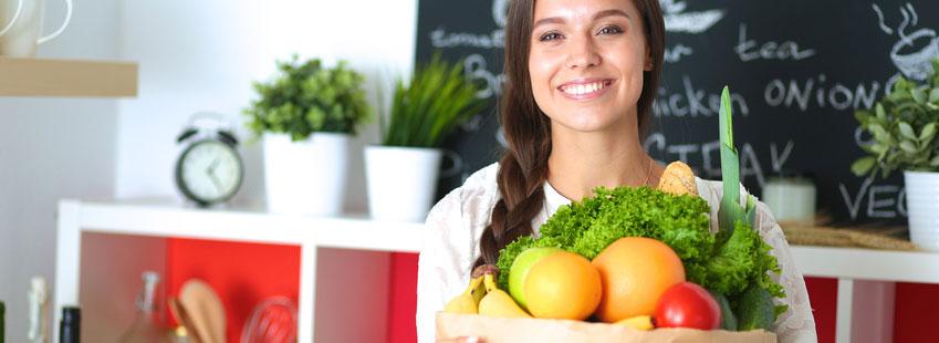 Gesundes Gemüse und Obst